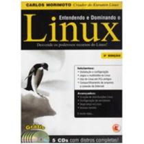 Dois Livros Sobre Linux 1=entendendo E Dominando O Linux=car