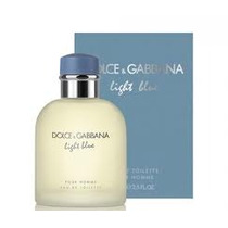 Perfume Dolce & Gabbana Light Blue Pour Homme Edt 125ml Masc