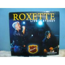 Roxette - Live In Sydney - Cd Digipack Nacional