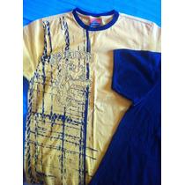 Lote De 2 Camisas - Tam P (pena E Urban Style)