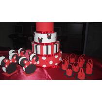 Kit De Festa Da Minnie Vermelha Ou Rosa