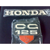Kit Emblema Tanque E Lateral Cg125 77/82 Replica Do Original