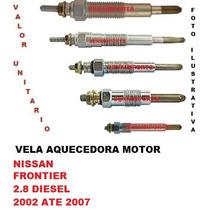 Vela Aquecedora Nissan Frontier 2.8 Diesel 2002 Ate 2007