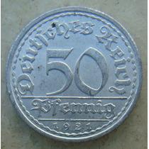 5295 Alemanha - 50 Pfennig 1921 A - Berlin , 23 Mm