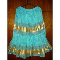 Saia Indiana Vestido Indiano Boho Chic Vintage