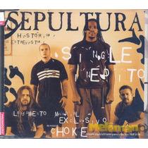 Sepultura - Choke Cd Single Promocional Revista Trip