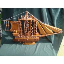 Veleiro Artesanal Antigo Recém Reformado Luminaria Nautica