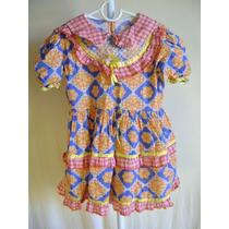 Vestido De Quadrilha Infantil