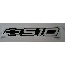 Emblema Adesivo S10 Preto Mmf Auto Parts -