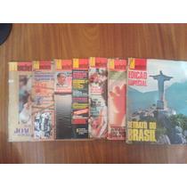 Lote De Revistas Manchete De 1968 A 1980 Com 7 Unidades