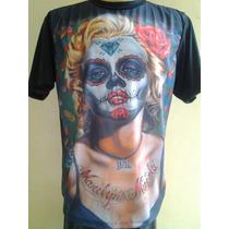 Camiseta Marilyn Muerta - Chicano Lowrider
