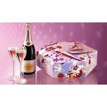 Champanhe Veuve Clicquot Shakkei Rosé Duas Taças De Cristal
