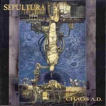Sepultura - Chaos A.d. + Bonus Lacrado Importado