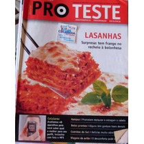 Revista Pro Teste 71 Julho 2008- Lasanhas - Cdlandia