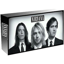 Nirvana With The Lights Out Box Set 3 Cds+dvd Novo Lacrado