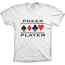 Camisetas Poker Player Camiseta De Poker Jogo Poker Baralho