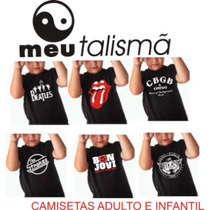 Camiseta, Bandas, Dj, Mtv, Play Boy, Musica, Rock, Dance
