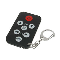 Mini Controle Remoto Universal Preto - Pronta Entrega