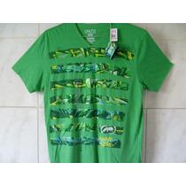 Camiseta Ecko Unltd Gola V 3xl Tamanho Especial 4g 80cmx64cm