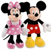 Minnie Ou Mickey 50 Cm - Pelúcia Original Disney