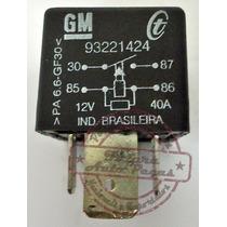 Rele Auxiliar De Injeção Eletronica 93221424 Para Gm