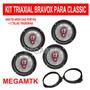 Kit Alto-falantes Bravox B3x Triaxial P/ Corsa Sd Classic