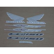 Kit Adesivos Honda Cg Titan 150 Sport 2008 Cinza - Decalx