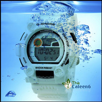 Relógios De Silicone Unissex Display Digital, 30m Waterproof