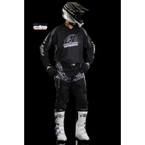 Kit Pro Tork Calça Camisa Insane Black 2012 Trilha Motocross