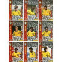 Lote C/ 19 Fut-cards Seleção Brasileira- Coca-cola-1997