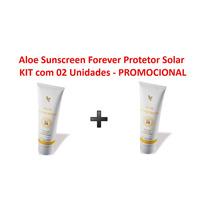 Sunscreen Protetor Solar Forever Living - Kit Com 2 Unidades