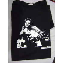 Camiseta, Johnny Cash, Eric Clapton, The Beatles, Led Zep