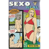 Revista Em Quadrinhos Sexo Real N° 21