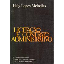 Livro - Licitação E Contrato Administrativo - 10ª Edição