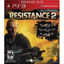 Jogo Lacrado Resistence 2 Exclusivo Sony Ps3 Em Portugues