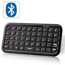 Mini Teclado Slim Bluetooth Para Ipad, Iphone 4.0, Pc, Htpc