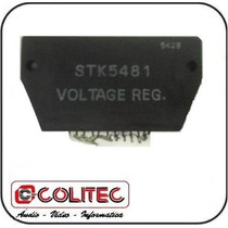 Circuito Integrado Stk 5481 Voltage Reg. Regulador De Tensão
