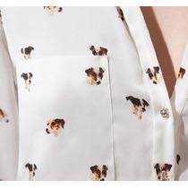 Camisa Cachorrinho Blusas Femininas Diversos Modelos No Bra