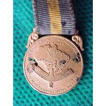 Medalha Miniatura Comemorativa Instalação De Brasília