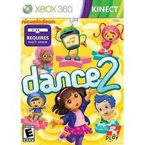 Jogo Novo Ntsc Lacrado Xbox 360 Nickelodeon Dance 2 Kinect