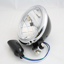 Farol Black/chrome-harley/custom/chopper/bobber/triciclo