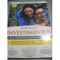 Livro Investimentos - Como Administrar Melhor O Seu Dinheiro