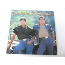 Disco Lp Vinil Leandro E Leonardo 1990 Ótimo Estado Coleção