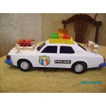 Carro De Policia Bate E Volta Feito No Brasil Dec De 70/80