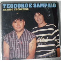 Lp Teodoro E Sampaio - Amando Escondido - 1995