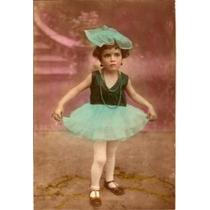 Foto-postal Antiga (2), Uma Colorizada À Mão, A Outra Origin