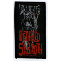 Patch Tecido - Danzig - 8 - Dethred Sabaoth - 2 - Importado