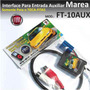 Entrada Auxiliar Para Toca Fitas Do Marea Ipod Apple Dvd Mp3