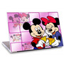 Skin Adesivo Notebook Papel Parede Mickey Minie Skdi1629