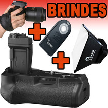 Kit Battery Grip Para Canon T3i T4i T5i 5d 6d 7d 60d